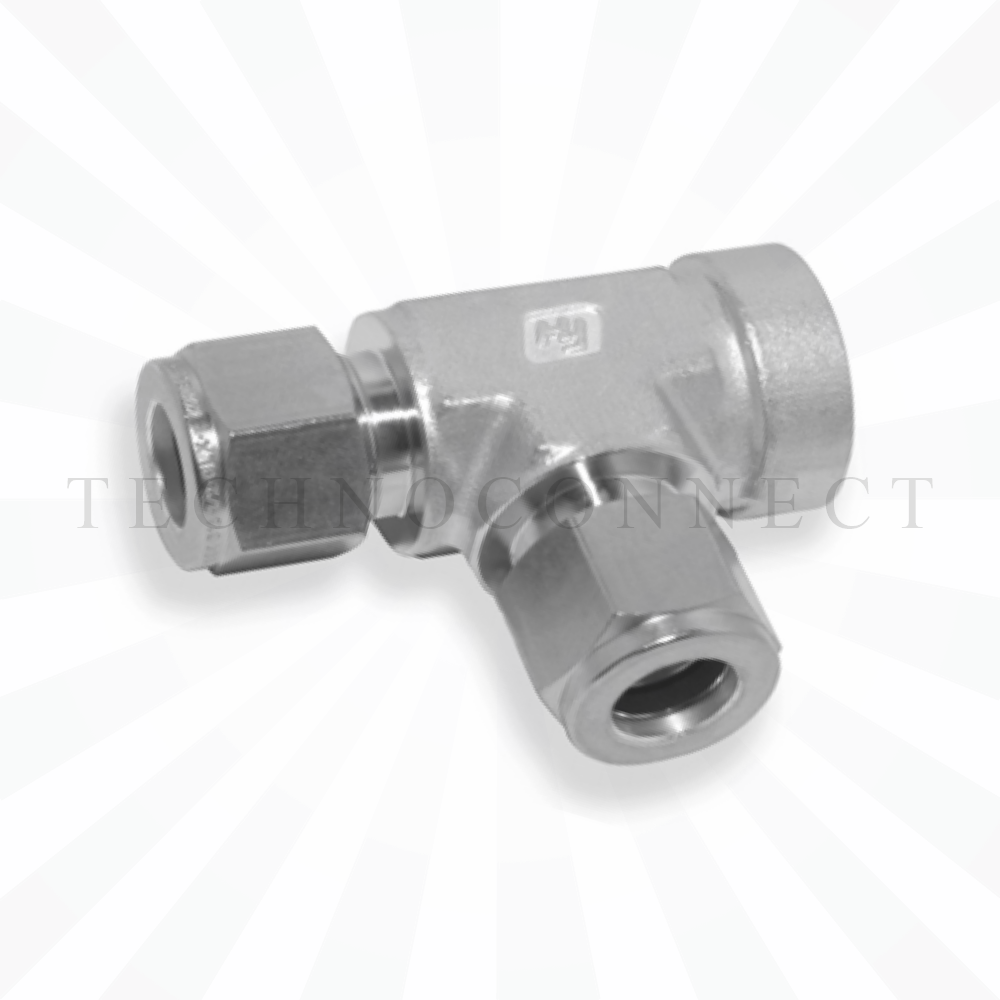 CRTA-12M  Тройник - адаптер проходной: фитинг 12мм- присоедин. фитинг  12 мм