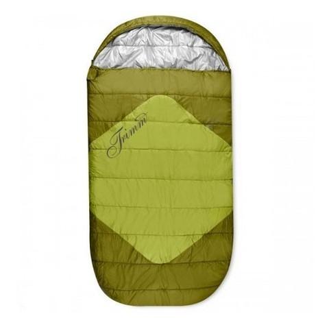 Летний спальный мешок Trimm Comfort DIVAN, 195 R (зеленый, синий, красный)