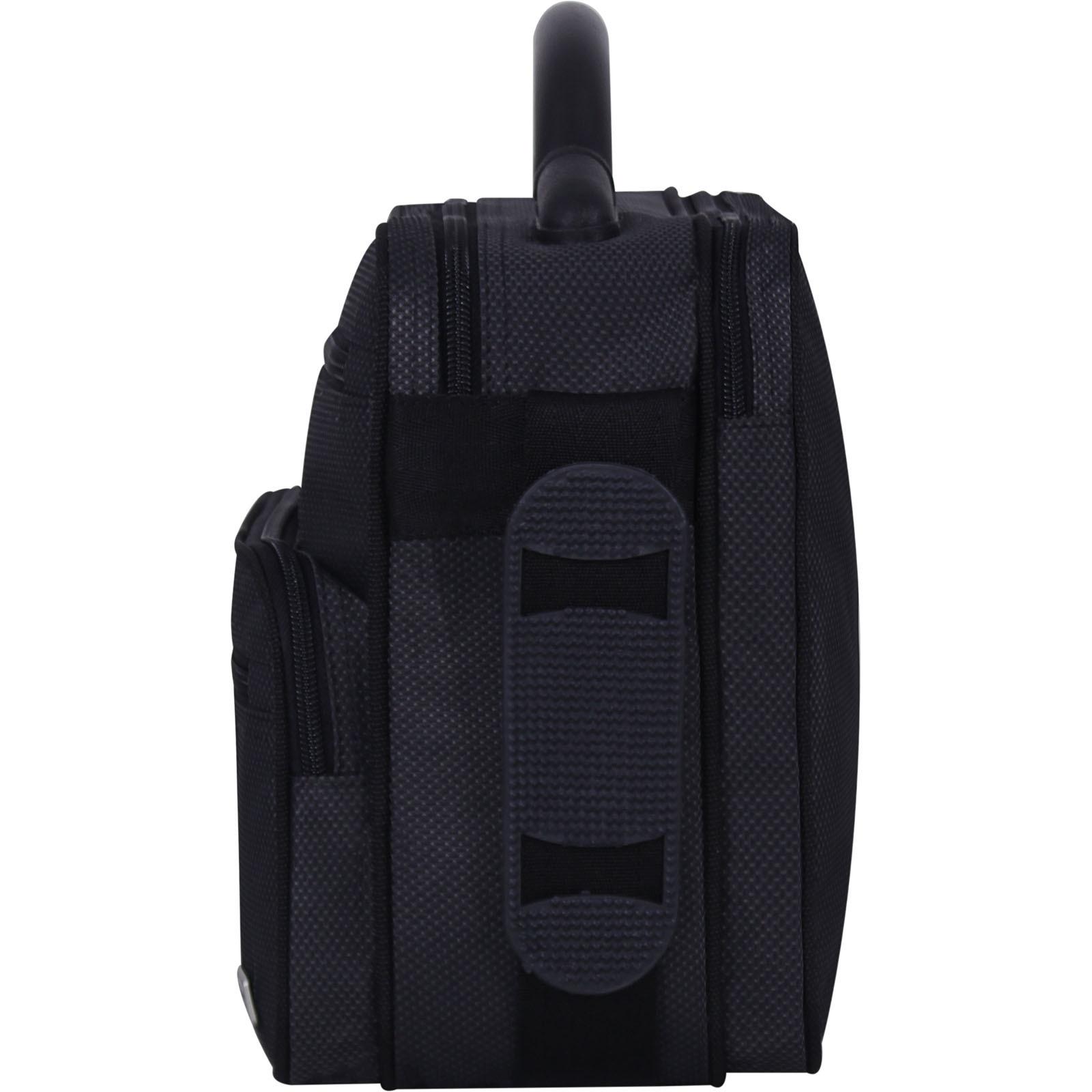Мужская сумка Bagland Mr.Braun 8 л. Чёрный (00240169) фото 3