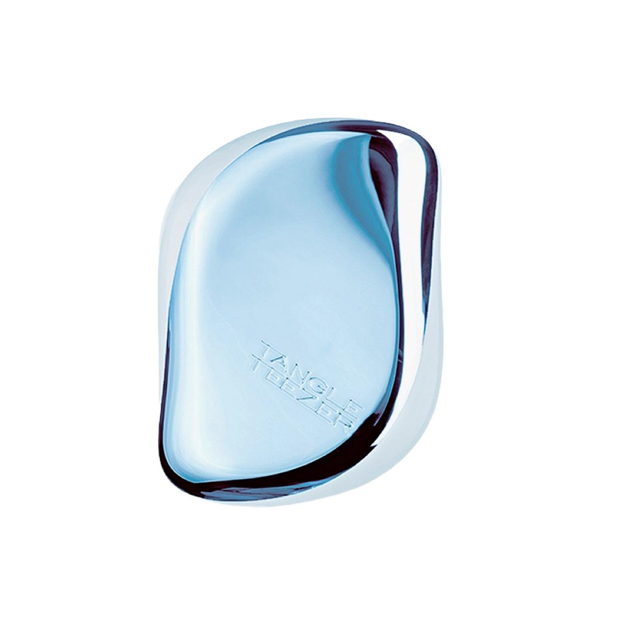 Tangle Teezer Compact Sky Blue Delight Chrome