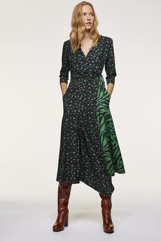 Dorothee Schumacher Платье в сочетании узоров