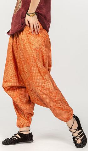 Оранжевые штаны алладины Кхароди