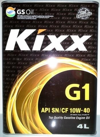 L531444TE1 Kixx G1 10W-40 полусинтетическое моторное масло (4 литра) официальный сайт партнера ht-oil.ru
