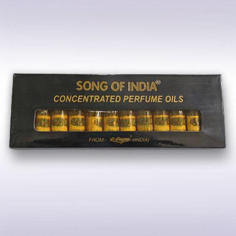 Набор парфюмерных масел 12 шт. по  2,5 мл