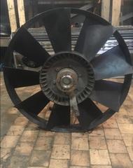 Крыльчатка вентилятора 9 лопастей d670mm\MAN F2000 \tga