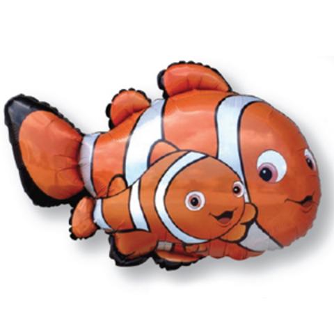 Шар фигура Рыба клоун, 86 см