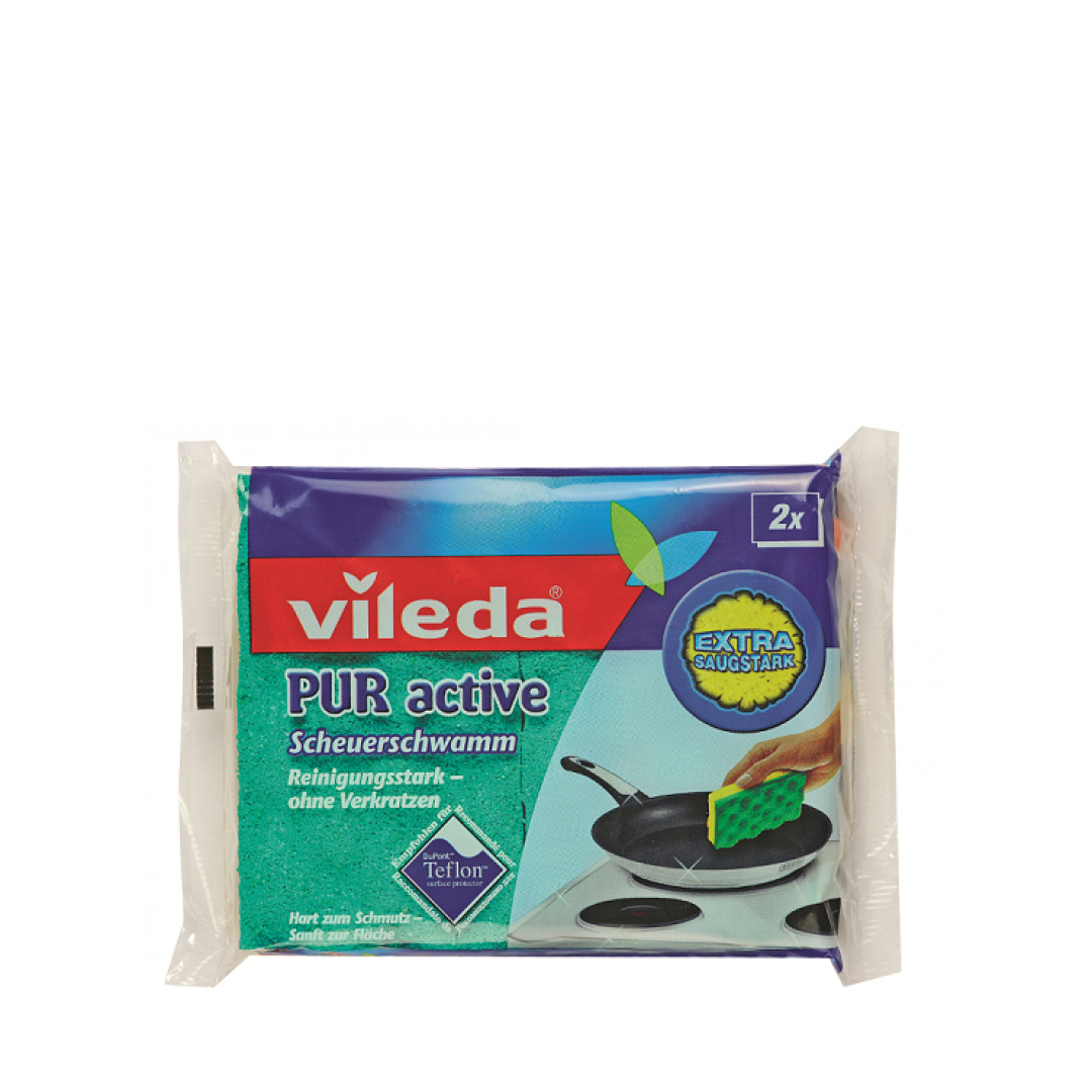 Губки для плит VILEDA Пур Актив 2шт.
