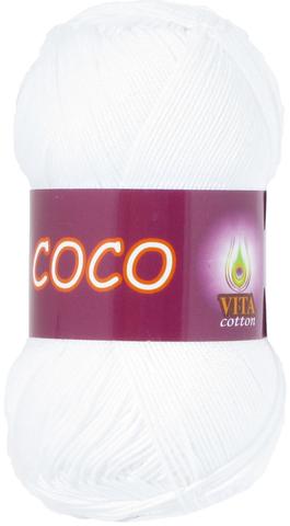 Пряжа Vita Coco 3851 белый
