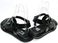 Мужские босоножки сандали Roberto Verbano 74609 Black.