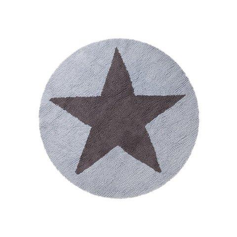 Ковер Lorena Canals Двусторонний Star Голубой (140D)