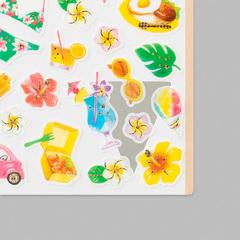 Стикеры Midori Sticker Marché - Hawai-gara