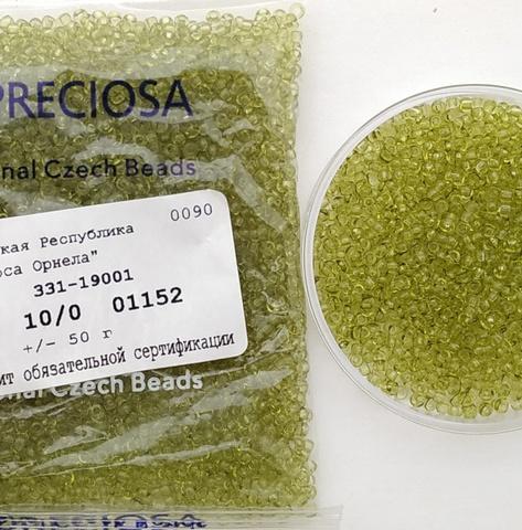 01152 Preciosa 10/0 50грамм (1 сорт)
