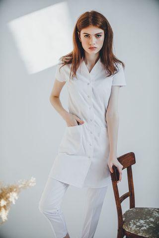 Халат женский медицинский М 19-2