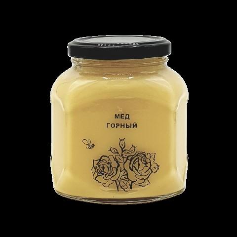 Мёд натуральный ГОРНЫЙ, 500 гр