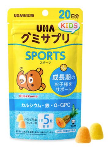 UHA Sports со вкусом манго и ананаса для детей с 2-х лет