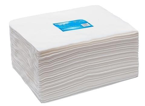 Полотенце большое White line 45*90 пачка белый  спанлейс 50 шт