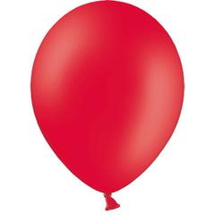 К 5''/13см, Красный, пастель, / 100 шт. /