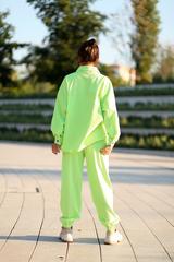 Салатовый спортивный костюм интернет магазин