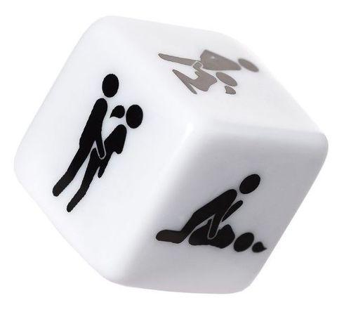 Игральный кубик  Позы страсти