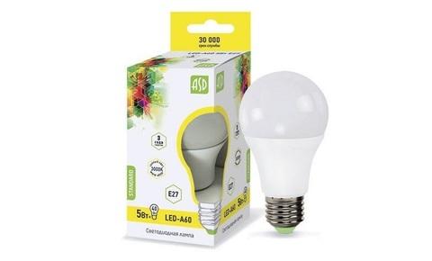 ASD лампа LED-А60