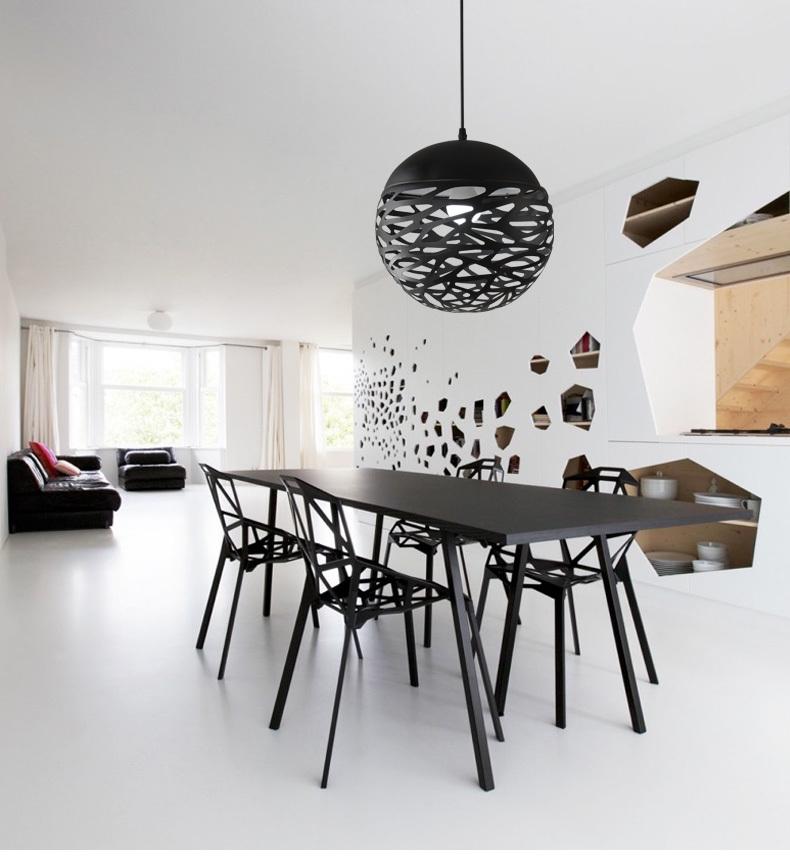 Подвесной светильник Kelly Cluster by Studio Italia Design (белый/сфера)