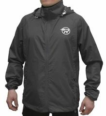 Ветровка непромокаемая с капюшоном Ray gray 127-5