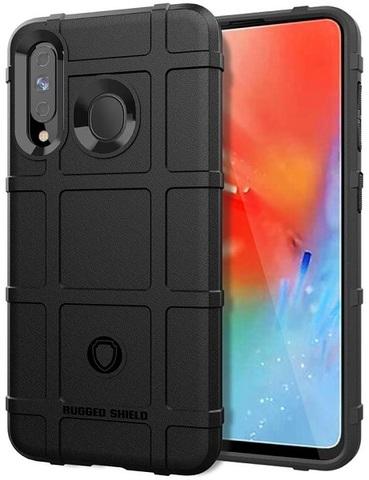 Чехол для Samsung Galaxy A60 (Galaxy M40) цвет Black (черный), серия Armor от Caseport