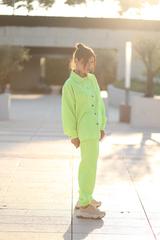 Салатовый спортивный костюм оптом