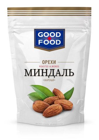 GOOD FOOD Миндаль жареный 130 г