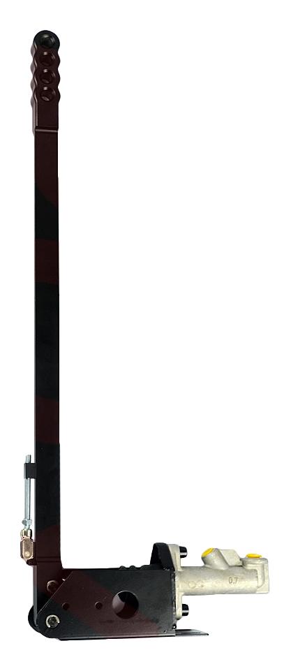 Гидроручник вертикальный длинный, длина 60 см, цвет черный