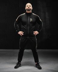 Мужская кофта Olimp Tracksuit Top Gold Series Black