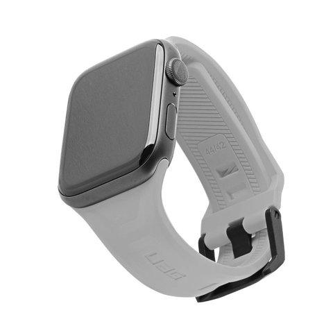 Ремень силиконовый UAG Scout Silicone для Apple Watch 44/42 cильвер (Silver)