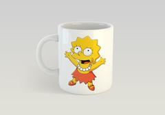 Кружка с рисунком из мультфильма Симпсоны (The Simpsons) белая 007