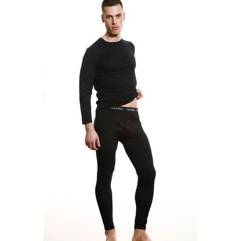 Мужское термобелье неутепленное Calvin Klein 365 Thermal Black