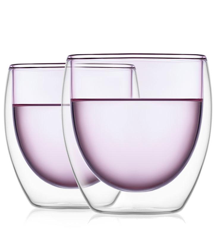 Все товары Стаканы с двойными стенками розового цвета стеклянные 250 мл набор 2 шт. stakan-rozoviy-s-dvoynimi-stenkamy-teastar-Rio.jpg