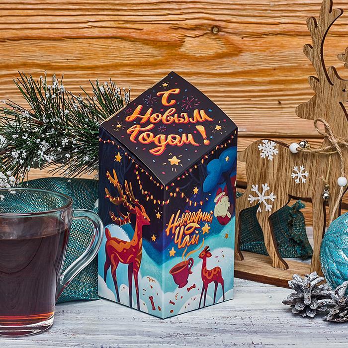 Купить чай в красивой новогодней упаковке Пермь