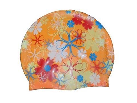 Шапочка для плавания (рисунок цветы): BF