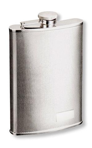 Фляга S.Quire (0,27 литра), сталь, серебристая