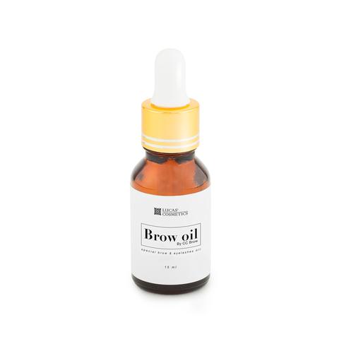 Масло brow oil для бровей и ресниц, 15мл