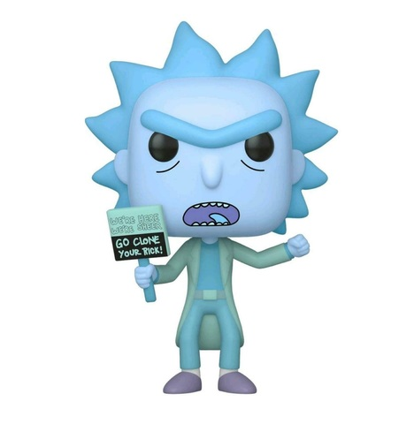 Фигурка Funko POP! Vinyl: Rick & Morty: Hologram Rick Clone