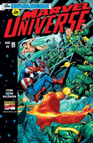 The Invaders In Marvel Universe #3