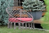 Подвесное кресло Aruba c деревянным каркасом Корса