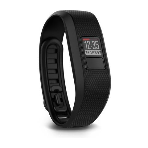Беговые часы Garmin Vivofit 3 черные стандартный размер