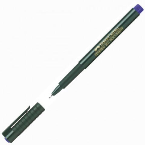Линер Faber-Castell Finepen 1511 cиний (толщина линии 0.4 мм)