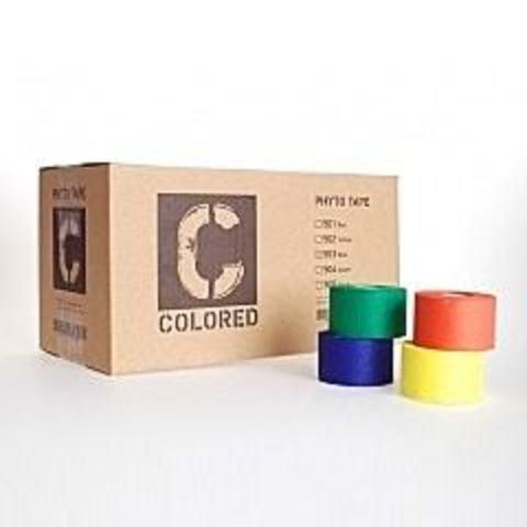 507 тейп Phyto tape голубой 3,8 см * 13,7 м (32 рулона)
