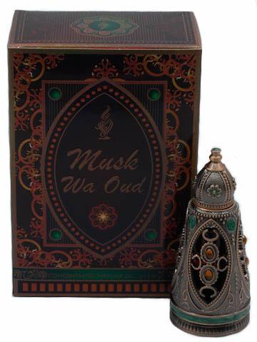 Пробник для Musk Wa Oud  Муск Ва Уд 1 мл арабские масляные духи от Халис Khalis Perfumes