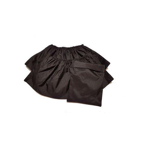 Многоразовые детские бахилы ZEERO Dewspo с мешочком, черные