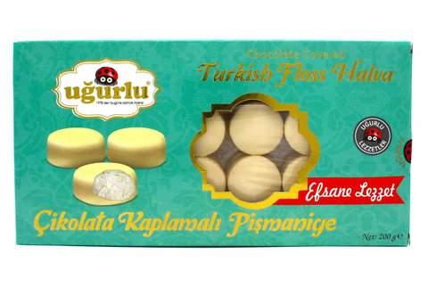 Пишмание в белом шоколаде, Ugurlu, 200 г