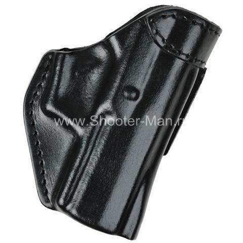 Кобура кожаная поясная для пистолета Хорхе 1 ( модель № 7 )