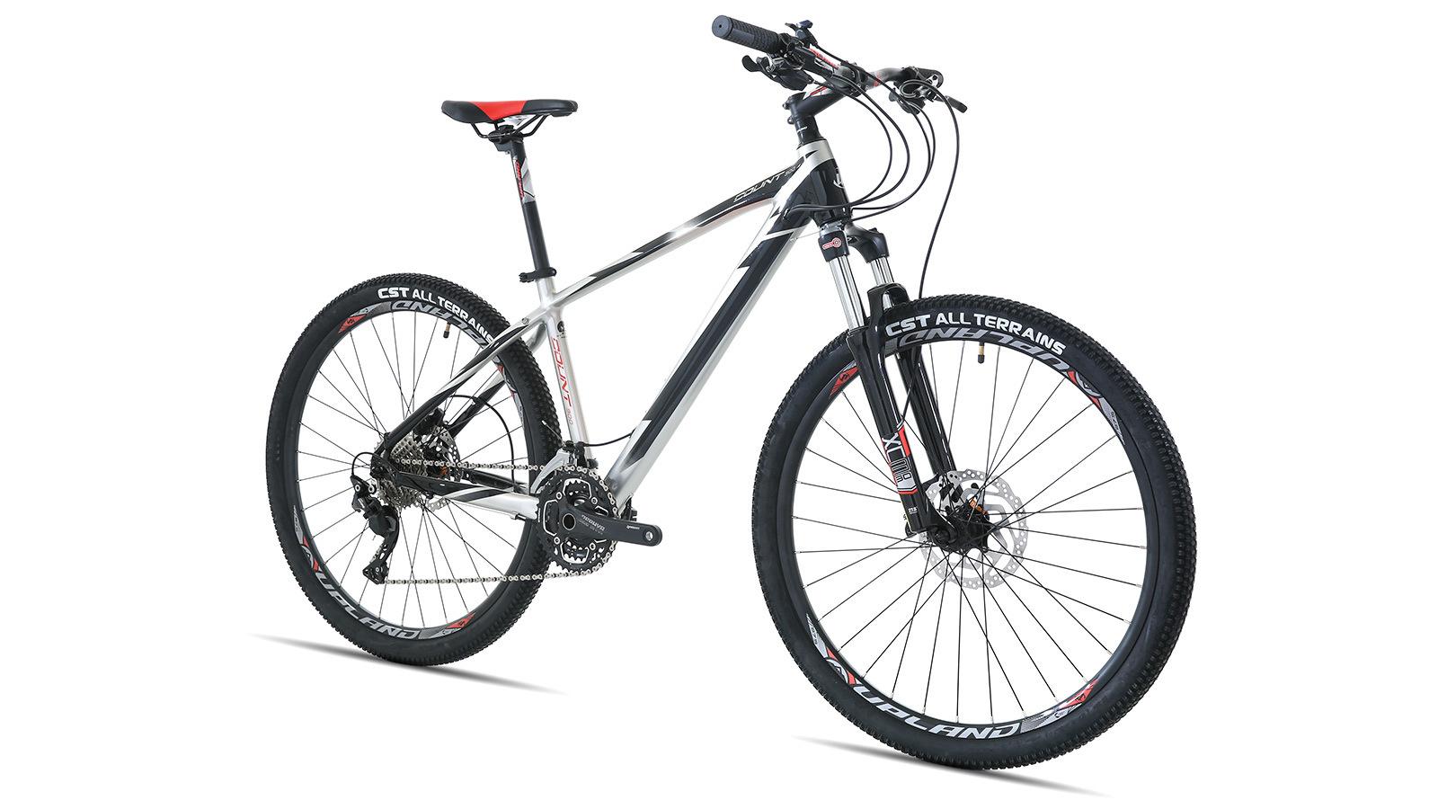 Горный велосипед Upland COUNT 300, вид спереди
